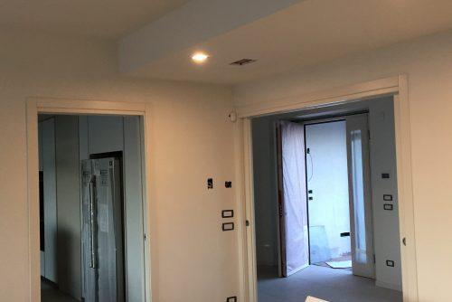Lavori finiti pareti e controsoffitti in cartongesso
