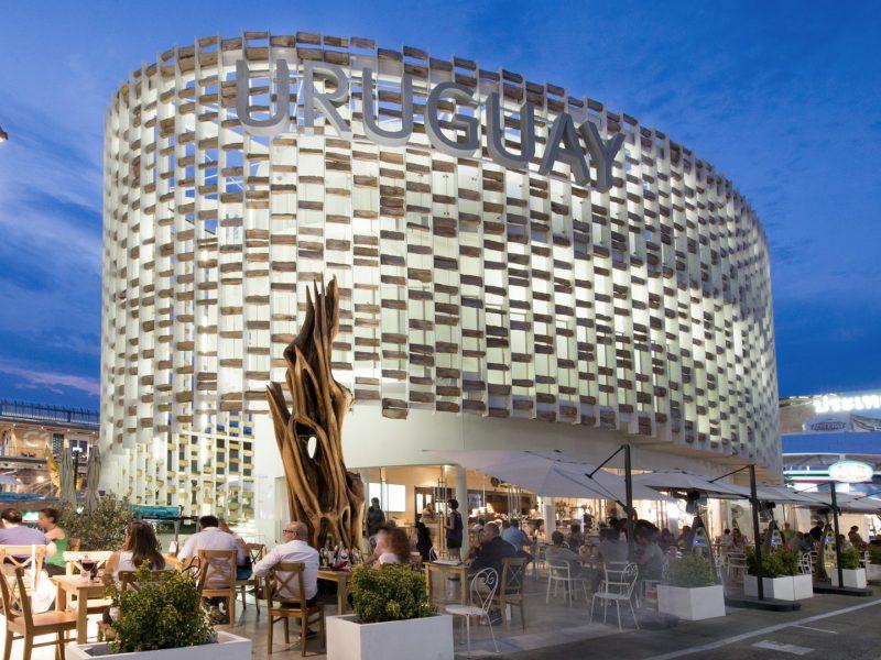 Lavori finiti al padiglione Uruguay per Expo