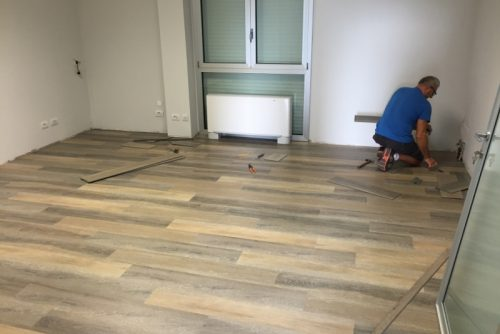 Work in progress pavimento Bexb