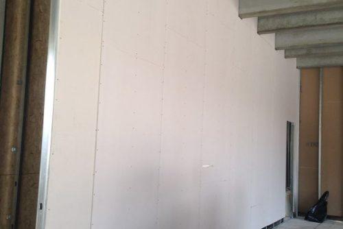 Strutture per posa di pareti in cartongesso - Oratorio di Rezzato