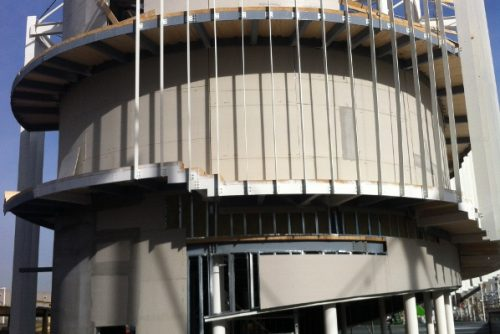 Work in progress padiglione Uruguay per Expo