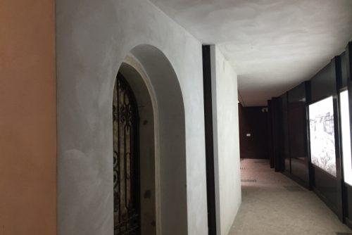 Intervento di ristrutturazione sito in Via Dante (Brescia) realizzato con strutture a secco.