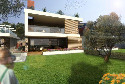 Residenziale Padenghe - Rendering di progetto.