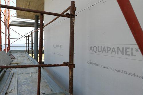 Residenziale Padneghe -Pareti perimetrali esterne in Aquapanel.