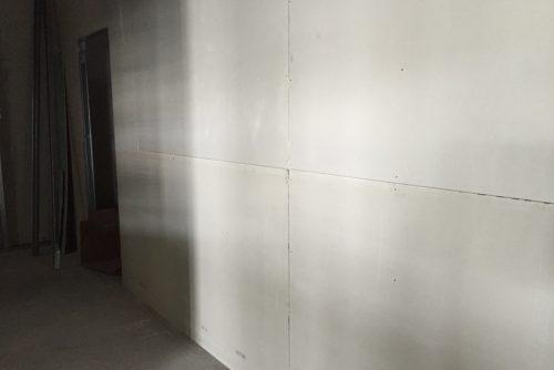 Particolare pareti Aquapanel/fibrogesso