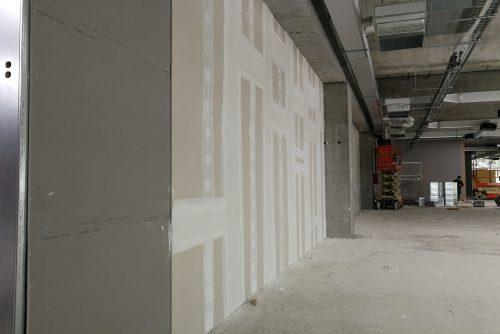 Pre - pareti showroom 1