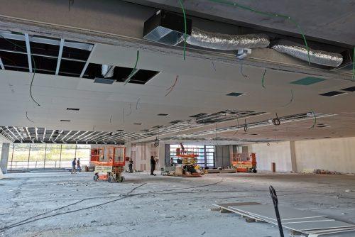 Pre - soffitto showroom 1