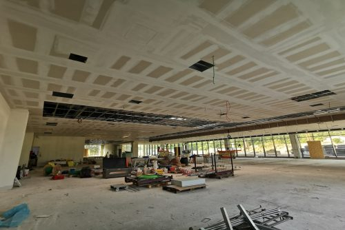Pre - soffitto showroom 2