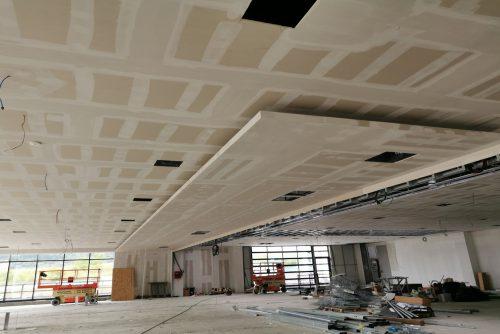 Pre - soffitto showroom 5